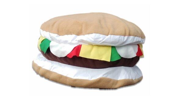 Supreme Accents Cheeseburger Pillow