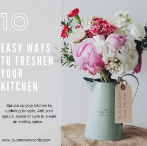 10 Easy Ways to Freshen Your Kitchen