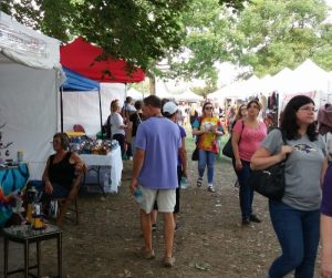 Craft Show Groupie Belair Festival of the Arts More People
