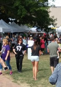 Craft Show Groupie Belair Festival of the Arts Ravens Fans