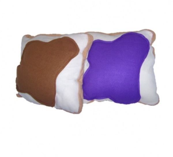 Supreme Accents Peanut Butter and Jelly Pillow