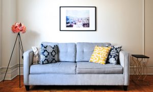 Mix and match throw pillow sets to match or complement your sofa