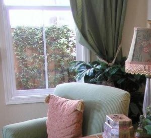 Improve window treatments for an updated family room or living room