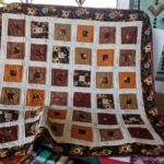 Inside Blocks Handmade Quilt