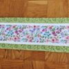 Supreme Accents Blooming Flowers Soft Green Table Runner 51 Inches