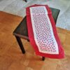 Supreme Accents Ladybug Love Table Runner Cherry Red 51 inches Long inches Long
