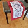 Supreme Accents Ladybug Love Table Runner Cherry Red 51 inches Long