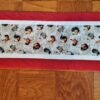 Supreme Accents Hens and Rooster Brick Red Table Runner 38 inches