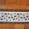 Supreme Accents Hens and Rooster Table Runner Hickory Brown Brown 38 inches