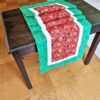 Supreme AccentsStrawberry Patch Green 71 inch Table Runner