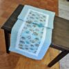 Supreme Accents Tropic Fish Sea Foam Green Table Runner 51 inches Long