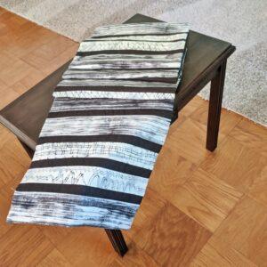 Supreme Accents Urban Spirit Dark Table Runner 68 inches Long