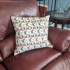Supreme Accents Butterflies Accent Pillow 20 inch Square