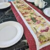 Supreme Accents Wine Time Burgundy Table Runner 51 inches Long