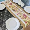 Supreme Accents Wine Time Golden Brown Table Runner 51 inchess Long