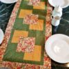 Supreme Accents Autumn Glory Green Table Runner 44 inches