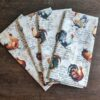 Supreme Accents Hens and Rooster Napkin set of 4