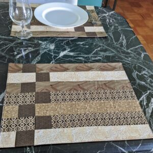 Supreme Accents Stepping Stones Dark Place mat