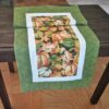 Supreme Accents Bountiful Pumpkins Greening Table Runner 38 inches