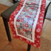 Supreme Accents Christmas Joy Red Table Runner 71 inches
