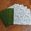 Supreme Accents Supreme Accents Garlic Green Place mat Set of 6