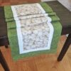 Supreme Accents Garlic Green Table Runner 71 inches