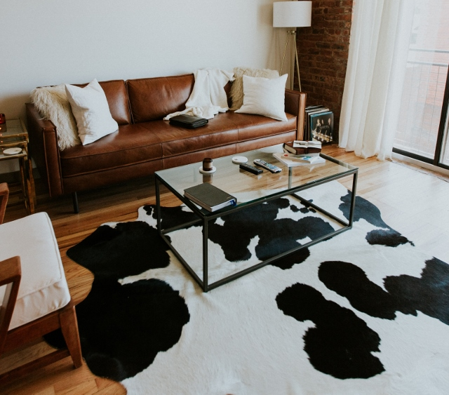 Supreme Accents How to add Cozy to Any Room -Layer texture with a rug