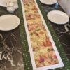 Supreme Accents Wine Time Green Table Runner 71 inches