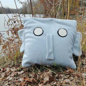 Supreme Accents Ernie Elephant Pillow