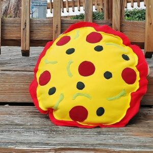 Supreme Accents Pizza Pillow Large