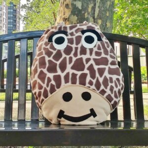 Supreme Accents George Giraffe Pillow