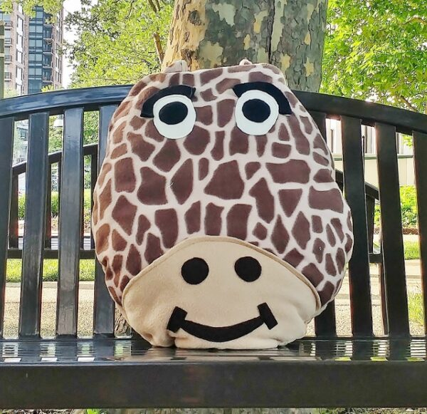 Supreme Accents George Giraffe Pillow