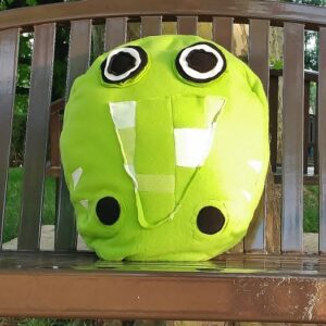 Supreme Accents Annabelle Alligator Pillow