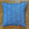 Supreme Accents Blue Leaf Accent Pillow 20 inch Square