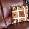 Supreme Accents Fall Blocks Accent Pillow 20 inch square