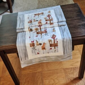 Supreme Accents Nordic Winter Table Runner 51 inch
