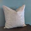 Supreme Accents Silver Metallic Accent Pillow