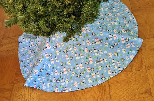 Supreme Accents Snowman and Friends Tree Skirt 46 inches