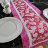 Supreme Accents All my Hearts Pink 51 inch Table Runner