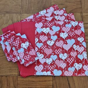 Supreme Accents All my Hearts Place mat and Napkin Set of 4
