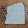 Supreme Accents Burgundy and Gold Stripe Napkin Place mat and Napkin Set of 4