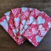Supreme Accents All my Hearts Napkin Set of 6