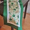 Supreme Accents Luck O the Irish Green Table Runner 51 Inches