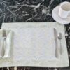 Supreme Accents Modern Wave Place mat and Napkin Set