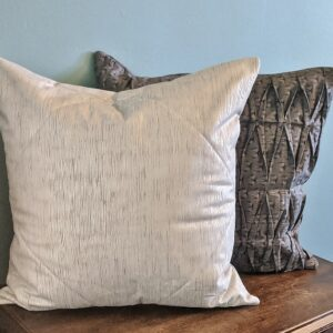 Supreme Accents Silver Gray Duo Accent Pillow