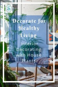 Supreme Accents Decorate for Healthy Living – Interior Decorating with House Plants - Post Cover
