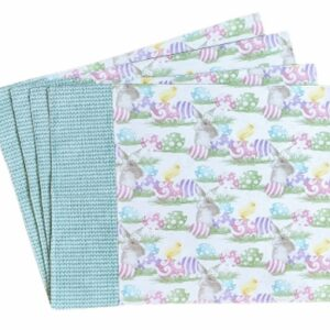 Supreme Accents Happy Easter Place Mat Set of 4 Green