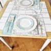 Supreme Accents Happy Easter Place Mat and Napkin