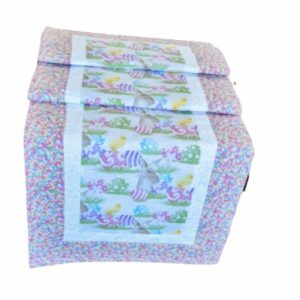 Supreme Accents Happy Easter Table Runner Easter Egg 51 inch