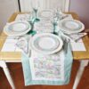 Supreme Accents Happy Easter Table Runner Green 51 inch